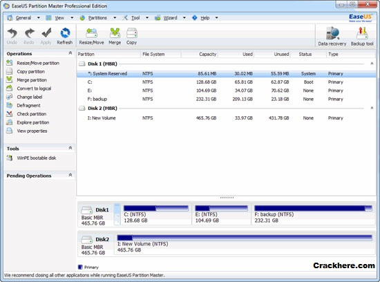 EASEUS Partition Master Professional 12.0 keygen
